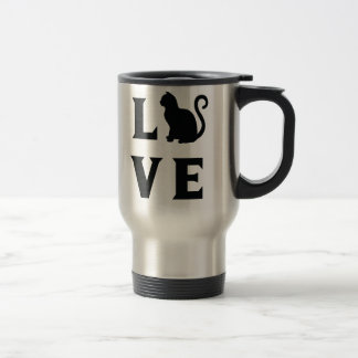 Love Cat Travel Mug