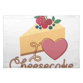 Love Cheesecake Placemat