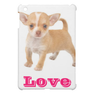 Love Chihuahua Puppy Dog iPad Shell Case iPad Mini Cases