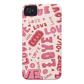 Love Collage iPhone 4 Case