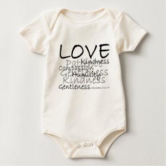 Love (Colossians 3) Infant Organic Baby Bodysuit