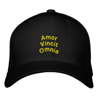 Love Conquers All: Embroidered Hat