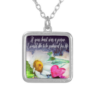 Love, declaration of love/Declaration OF love Silver Plated Necklace