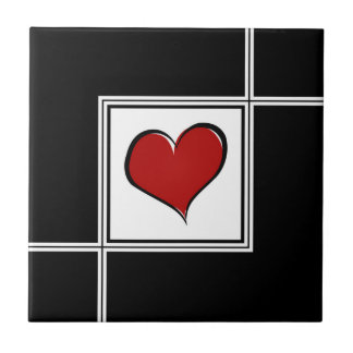 Love design small square tile