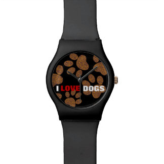 love dogs ~ dog paw watch