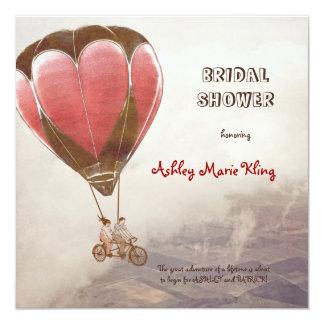 LOVE DREAM  Bridal Shower 13 Cm X 13 Cm Square Invitation Card