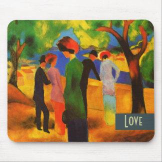Love Fine Art Valentine s Day Gift Mousepad