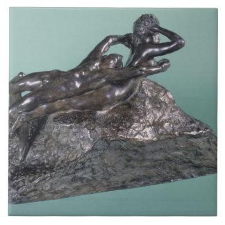 Love Fleeing, 1883-84 (bronze) Tiles