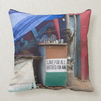 Love for all, Hatred for none, Chennai Cushion