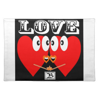 LOVE FOR EVERY DAY PLACEMAT