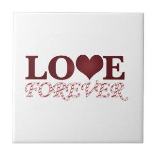 Love Forever Ceramic Tile