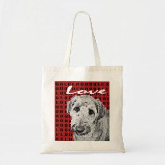 Love Goldendoodles Tote Bag