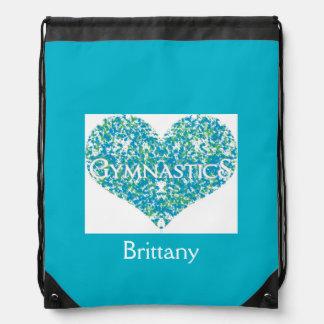 Love Gymnastics Drawstring Bag