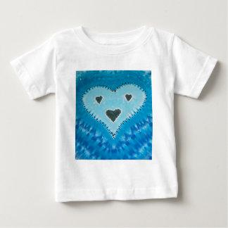 Love Happy Hearts Face Tie Dye T Shirts
