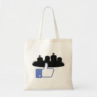 Love Headstones Tote Bag