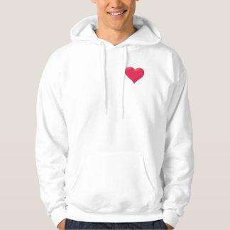 Love/Heart/I Love You S Hooded Sweatshirts
