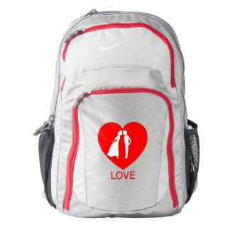 Love Heart Nike Backpack