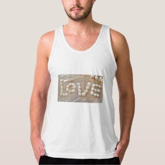 Love Heart Sea Shell Beach Hearts Seashells Summer Singlet