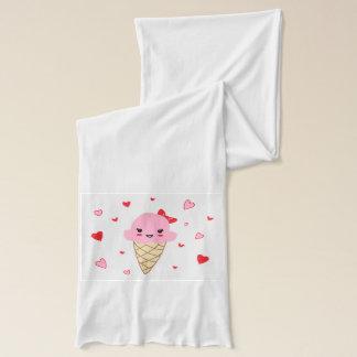 Love Ice Cream Scarf