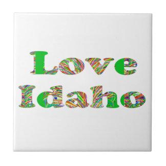 LOVE IDAHO CERAMIC TILES