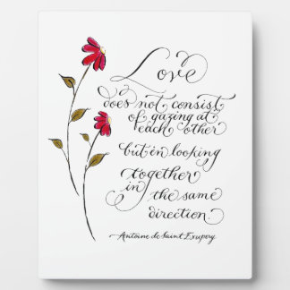 Love Plaques Quotes Delectable Inspirational Love Quotes Photo Plaques  Zazzle.co.nz