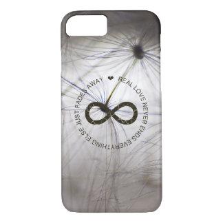 Love Infinity dandelion seed iPhone 7 Case