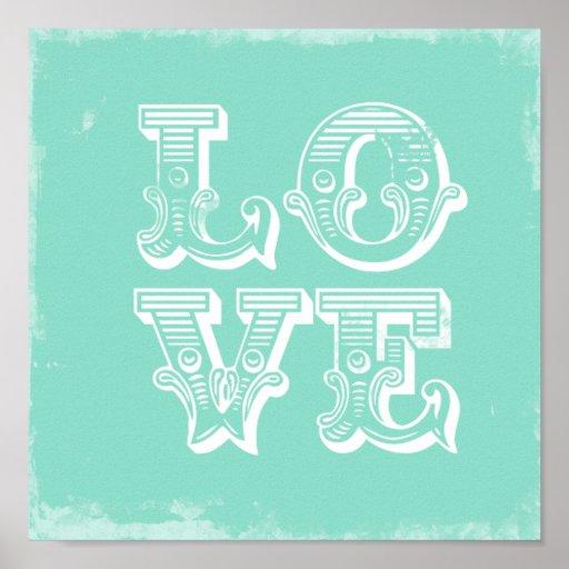 LOVE IS A CIRCUS PRINT