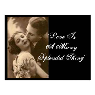 Love Is A Many Splendid Thing Postcard Post Cards