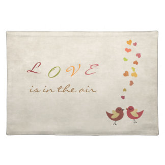 Love is in the air placemat