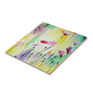 Love is in the Air Small Square Tile