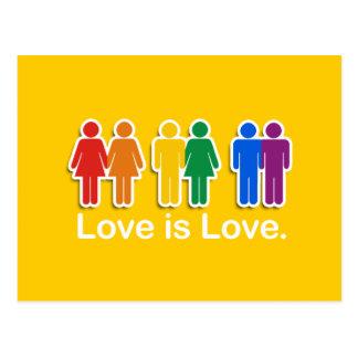 LOVE IS LOVE BASIC POSTCARD