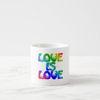 Love is Love Espresso Mug