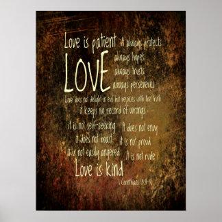 Love Is Patient Mixture Poster