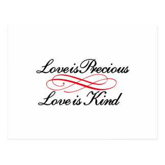 Love is Precious Postcard
