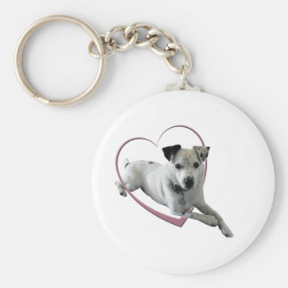 Love Jack Russell Dog Gifts Key Ring