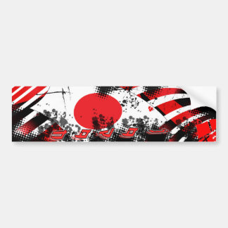 Love Japan Sticker Bumper Sticker