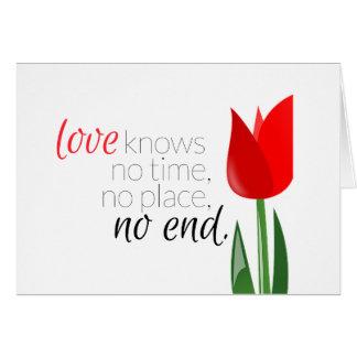 Love Knows... Sympathy Card