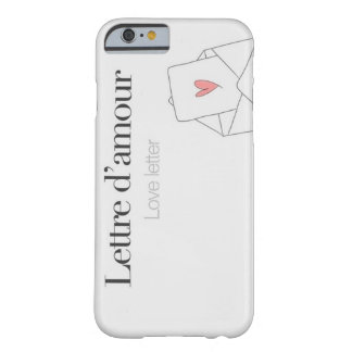 Love letter. barely there iPhone 6 case