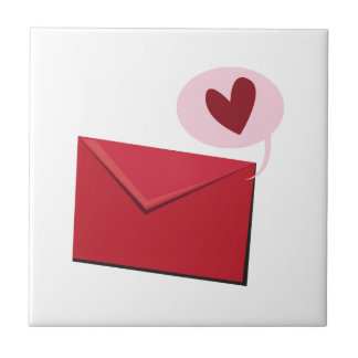Love Letter Small Square Tile