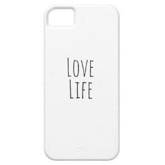 Love Life iPhone 5 Covers