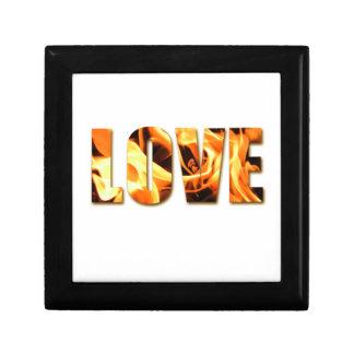 Love Like Fire Design Gift Box