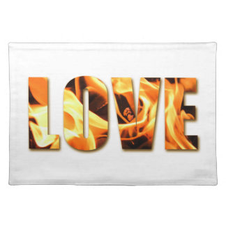 Love Like Fire Design Placemat