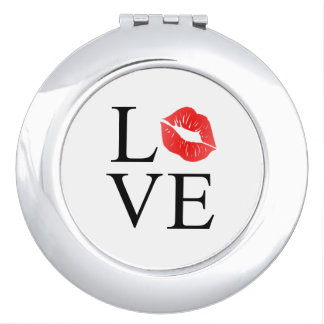 Love Lips Compact Mirrors