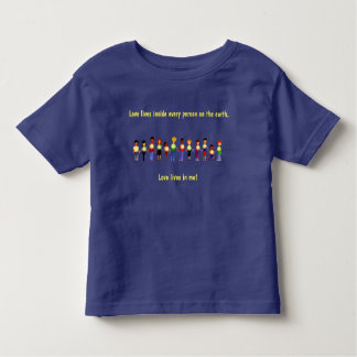 Love Lives in Me for Kids Shirt