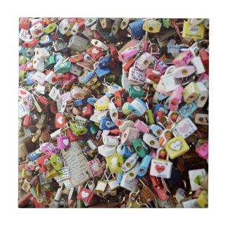 Love Locks Ceramic Tiles