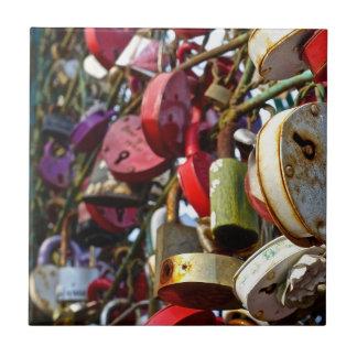 Love Locks, Ceramic Tiles