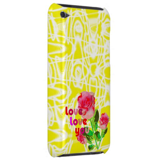 Love,love you barely there iPod covers