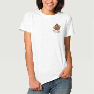Love Maine Coon Embroidered Polo Shirts