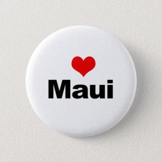 Love Maui 6 Cm Round Badge