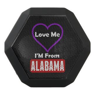 Love Me, I'M From Alabama Black Bluetooth Speaker